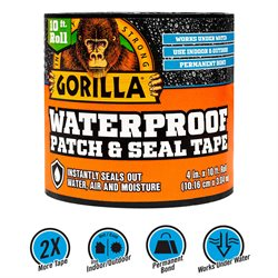 "Gorilla vandfast ""Patch & Seal"" tape"