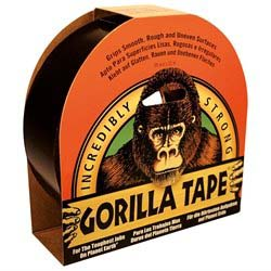 Gorilla Tape - Sort - 32 meter